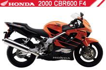2000 Honda CBR600F4 Accessories
