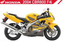 2004 Honda CBR600F4i Accessories