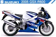 2005 Suzuki GSXR600 Accessories