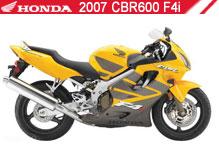 2007 Honda CBR600F4i Accessories