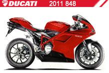 2011 Ducati 848 Accessories