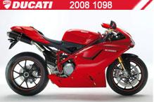 2008 Ducati 1098 Accessories