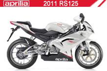 2011 Aprilia RS125 Accessories