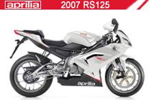 2007 Aprilia RS125 Accessories