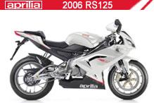 2006 Aprilia RS125 Accessories
