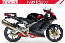 1998 Aprilia RS250 Accessories