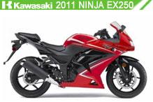 2011 Kawasaki Ninja EX250 Accessories