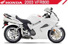 2003 Honda VFR800 Accessories
