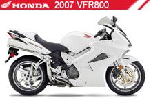 2007 Honda VFR800 Accessories