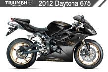 2012 Triumph Daytona 675 Accessories