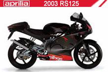 2003 Aprilia RS125 Accessories