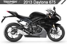 2013 Triumph Daytona 675 Accessories