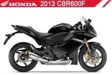 2013 Honda CBR600F Accessories