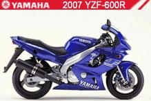 2007 Yamaha YZF600R Accessories