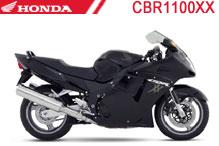 CBR1100XX Fairings