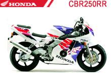 CBR250RR Fairings