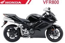 VFR800 Fairings
