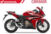 CBR500R Fairings